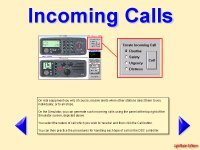 VHF DSC Radio Tutor teaching how to handle incoming Digital Selective Calling alerts.