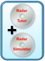 Save money with the Radar Tutor Plus pack with Simulator and Tutorial on one CD.